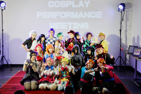 COSPLAY PERFORMANCE MEETINGの模様